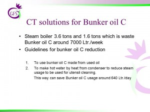 CT solutions for Bunker Oil C