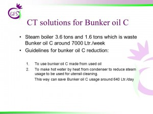CT solutions for Bunker Oil C2