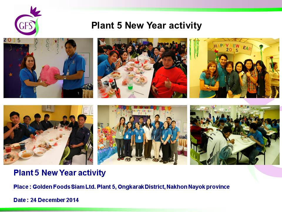 Plant 5 New Year Activity